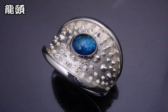指輪 メンズ : 霰リング ブルートパーズ 12~28号の画像1枚目