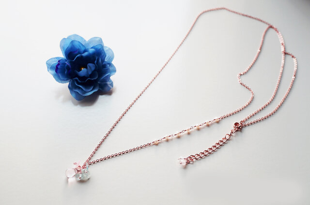 レディーロングネックレス Lady long necklace N0006の画像1枚目