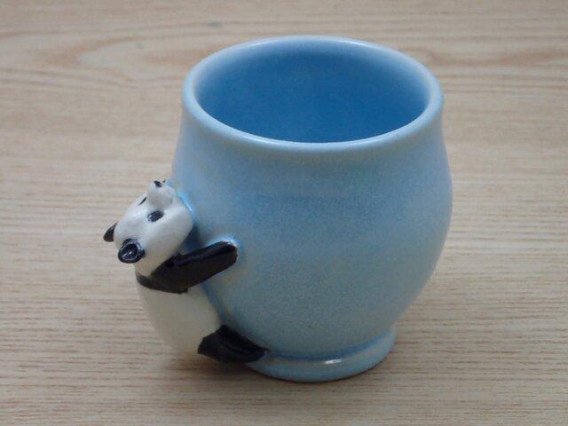 脱力パンダ・ふっくらカップ−B(ハンドルなし)の画像1枚目