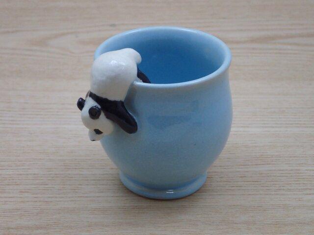 脱力パンダ・ふっくらカップ−C(ハンドルなし)の画像1枚目
