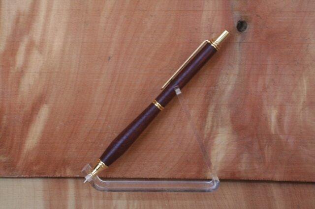 パ-プルハート ヨーロピアン シャープペン 0・5ミリ 紫色の画像1枚目