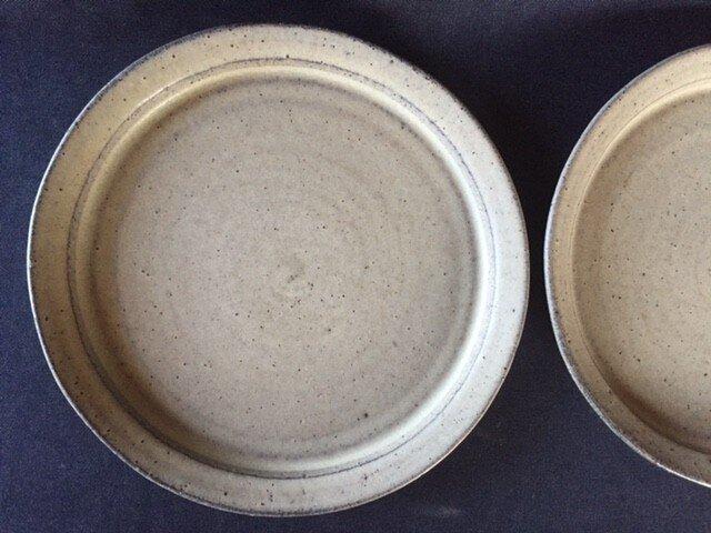 リム皿2枚組 (もぐたん様オーダー品)の画像1枚目