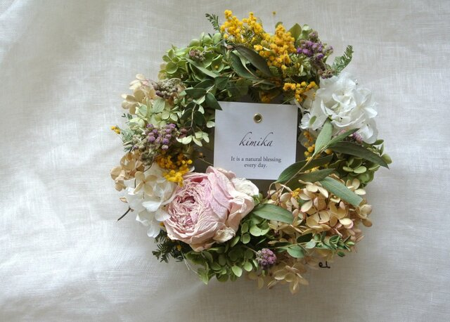 season wreath.優しい風の画像1枚目