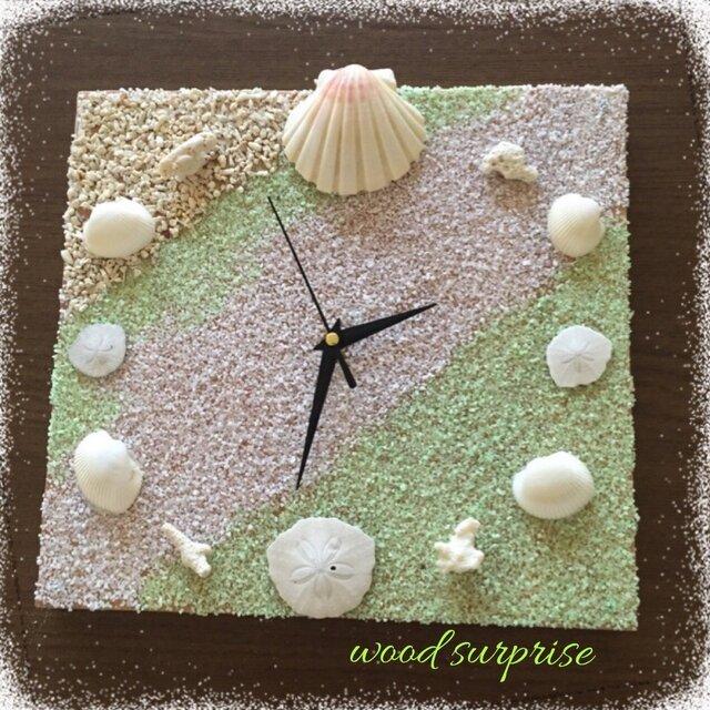 海を感じる癒し時計の画像1枚目