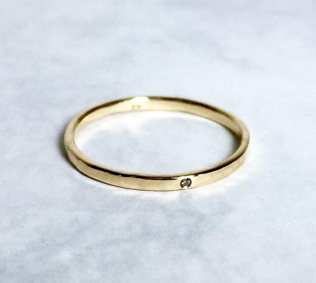 Only one star Ring / K18YGの画像1枚目