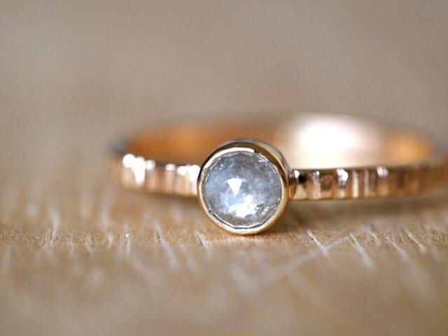 Baby Moon Diamond Ringの画像1枚目