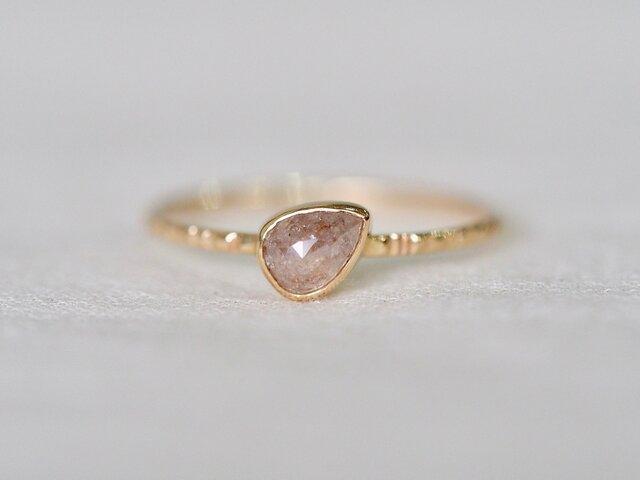 Magnolia Petal Diamond Ringの画像1枚目