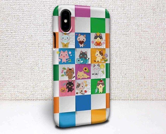 iphone ハードケース iPhoneX iphone8 iphone8 plus iphone7 猫 猫の365日の画像1枚目