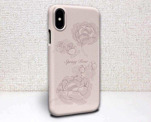 iphone ハードケース iPhoneX iphone8 iphone8 plus iphone7 春 春の薔薇の画像1枚目