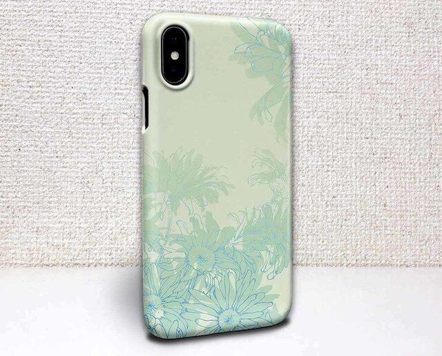 iphone ハードケース iPhoneX iphone8 iphone8 plus iphone7 花柄 咲き誇る花の画像1枚目