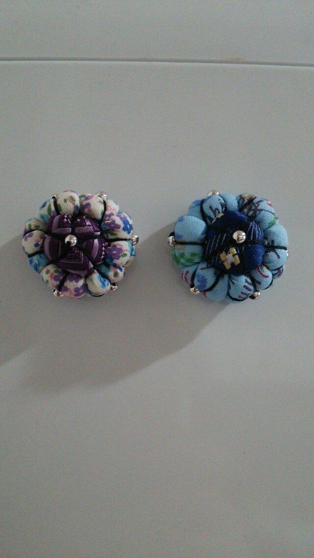 2個で1セット!花のマグネットの画像1枚目