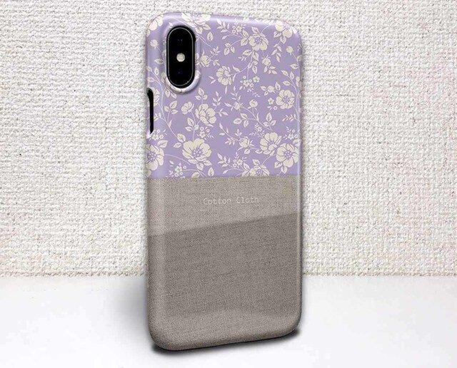 iphone ハードケース iPhoneX iphone8 iphone8 plus 花柄 Cotton Clothと花柄の画像1枚目