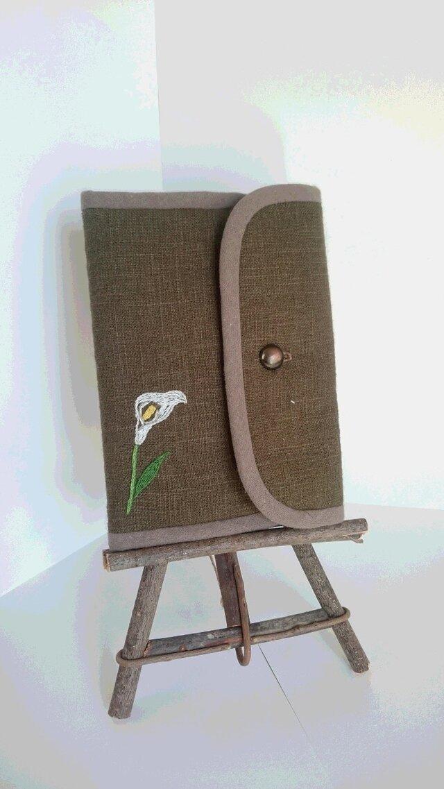 刺繍のマルチケースの画像1枚目