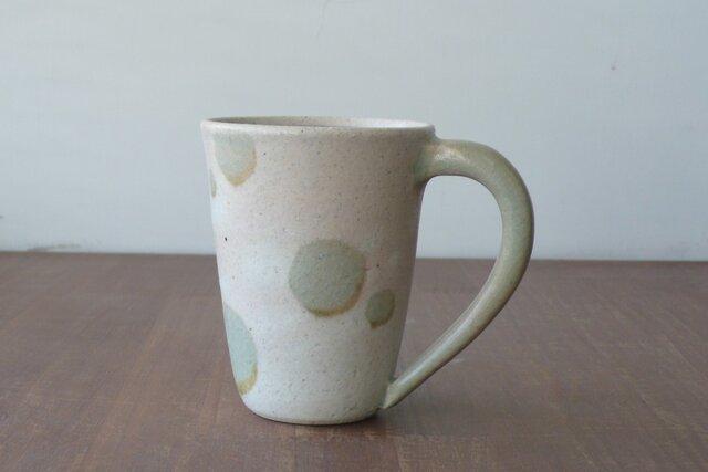 マグカップ 釉彩水玉の画像1枚目