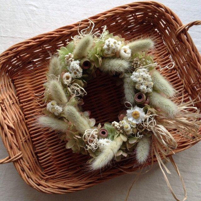 野の花wreathの画像1枚目