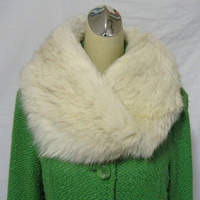 ¶ new antique fur ¶ ブルーフォックスnejiriスヌード「moti」の画像1枚目