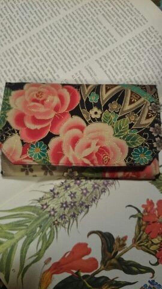蛇腹カードケース  和柄の画像1枚目