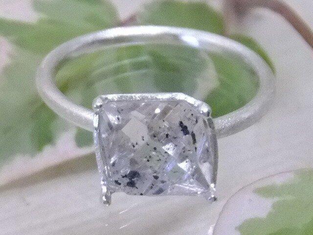 NYハーキマーダイヤ*925リングの画像1枚目