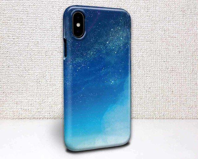 iphone ハードケース iPhoneX iphone8 iphone8 plus 星空 Starry Sky 星空の画像1枚目