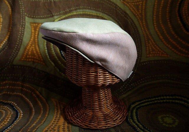 手作り ハンチング帽「山」~yama~の画像1枚目