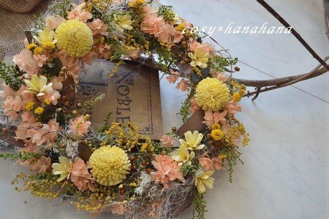 春の森wreathの画像1枚目