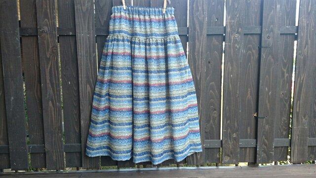 ふんわりギャザースカート(裏付)の画像1枚目