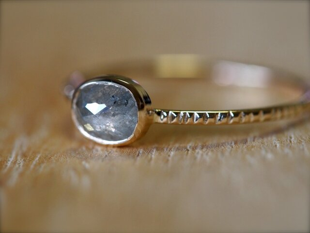 Frozen Drop Diamond Ringの画像1枚目