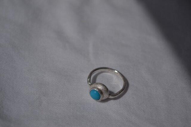 トルコ石 Ring 77の画像1枚目