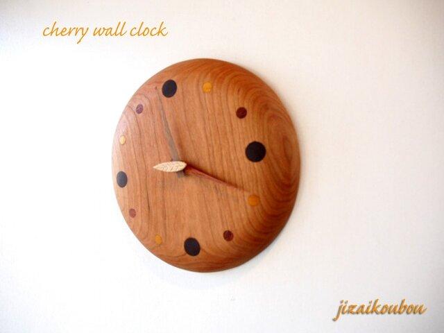 チェリーの「 なめらか掛け時計」の画像1枚目