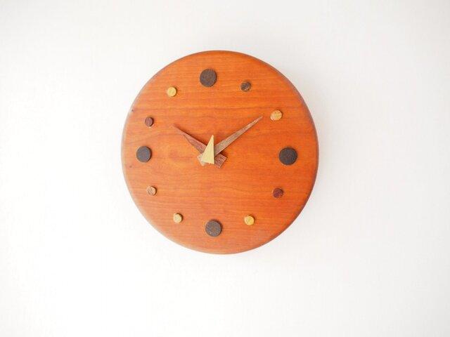 SAKURA サークル掛け時計の画像1枚目
