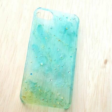 ターコイズブルーの世界  iPhone5S 用の画像1枚目