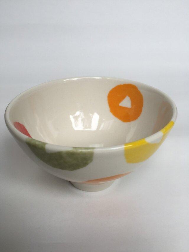 子供のお茶碗 ビタミンフラワーの画像1枚目