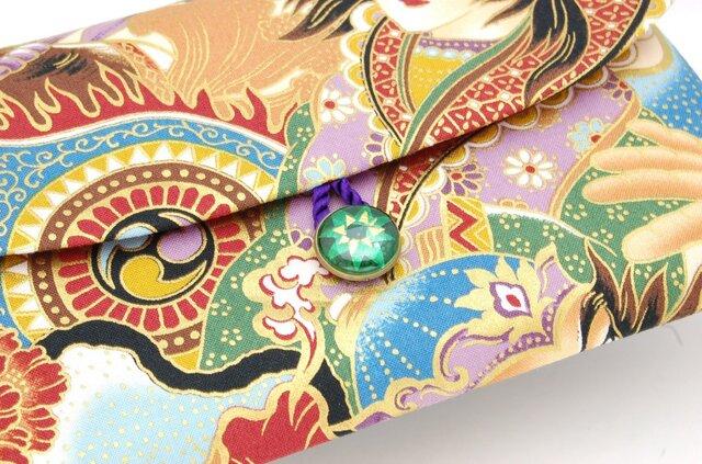 【七宝作家コラボ 御朱印帳ケース】18×12cmサイズの画像1枚目