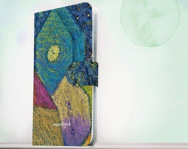 全機種対応 手帳型 スマホケース iPhoneXs iPhone9 iPhoneXs Max星空 ロマンチックな夜の画像1枚目