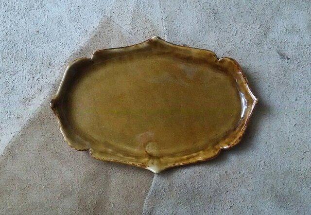洋風な和皿の画像1枚目