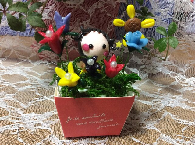 お花の妖精1の画像1枚目