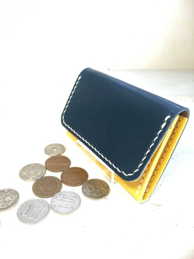 【Vivid colors♫】コンパクトな四角いミニミニ財布の画像1枚目