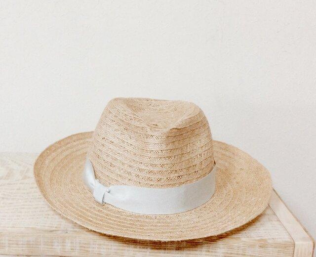 Gray ribbon hatの画像1枚目