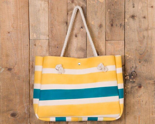 Rope handle Tote bag(ShimaShima)の画像1枚目