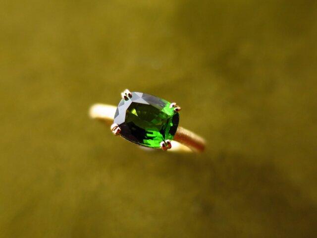 K18 Crome Tourmaline Ringの画像1枚目