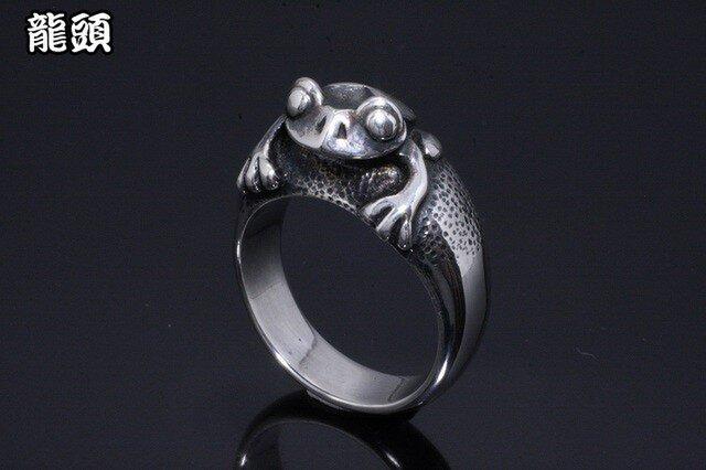 蛙指輪の画像1枚目