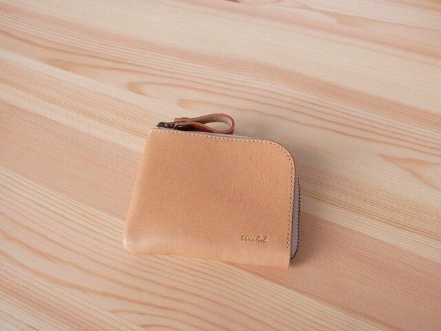 ちいさなお財布 (期間限定 新色 ベルギーヌメ) ベルギーレザー の画像1枚目