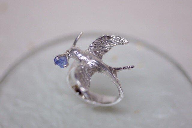 【受注製作】A happy swallow ring 〜幸運の使者〜の画像1枚目