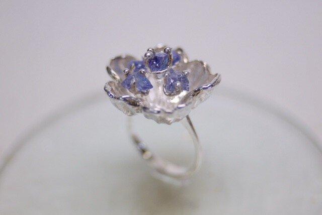 【受注製作】Sakura flower ringの画像1枚目