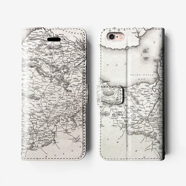 iPhone 7 / 7+ / SE / 6 / 6S / 6+ / 6S+/ 5s Decouart 手帳型 ケース B099の画像1枚目