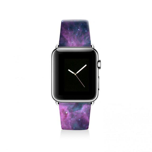 本革☆Apple Watch アップルウォッチ バンド ファッション ベルト 交換 ベルト 035の画像1枚目