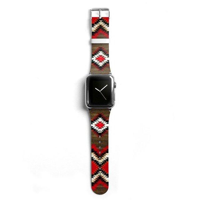 本革☆Apple Watch アップルウォッチ バンド ファッション ベルト 交換 ベルト 005の画像1枚目