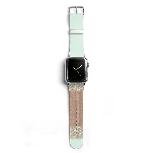 本革☆Apple Watch アップルウォッチ バンド ファッション ベルト 交換 ベルト 016の画像1枚目