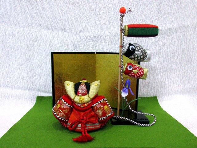 五月人形 兜・こいのぼりセットの画像1枚目