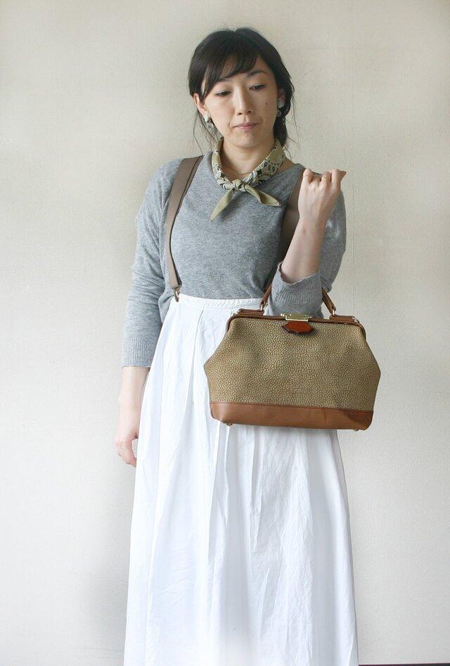春のお出かけバッグはコレ!本革ドクターバッグ・Sサイズの画像1枚目